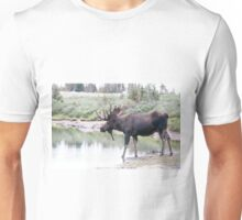 Thirsty moose a Thursday morning Unisex T-Shirt