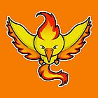 Super Cute Legendary Bird - Team Red by perdita00