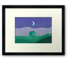 Night Tree Framed Print