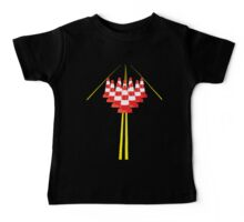 Witches hats as bowling pins Baby Tee