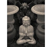 Buddha IV Toned Photographic Print