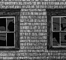 creepy windows by Manon Boily