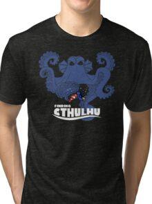 Finding Cthulhu Tri-blend T-Shirt