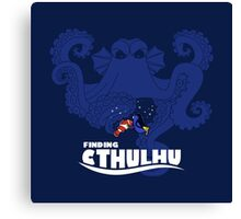 Finding Cthulhu Canvas Print