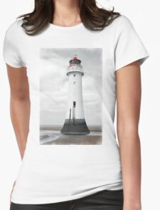 Perch Rock Isolation Womens Fitted T-Shirt