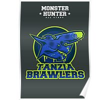 Monster Hunter All Stars - The Tanzia Brawlers Poster