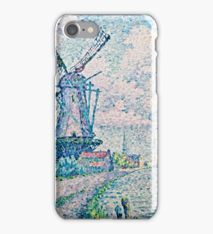 Paul Signac - Canal of Overschie (1906)  iPhone Case/Skin