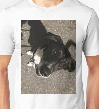 Max the Dog has a sweet tooth Unisex T-Shirt