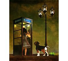 Phoning home Photographic Print