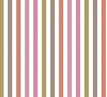 Pink Roses in Anzures 2 Stripes 1V by Christopher Johnson