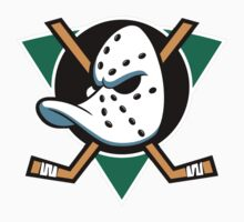 MIGHTY DUCKS OF ANAHEIM RETRO (2) Baby Tee