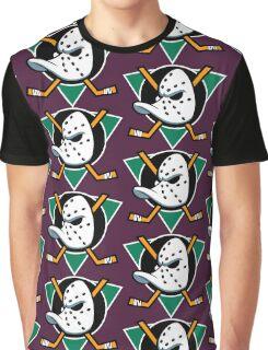 MIGHTY DUCKS OF ANAHEIM RETRO (2) Graphic T-Shirt
