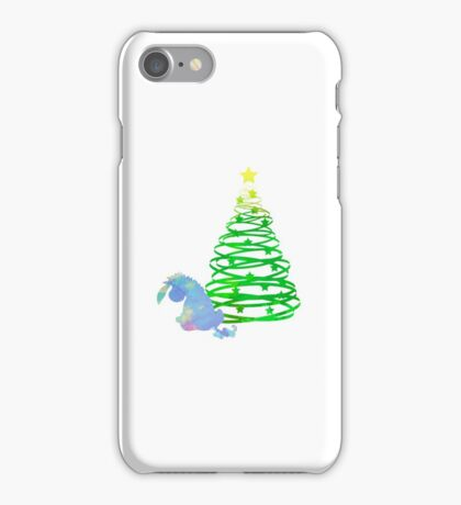 Christmas Donkey Inspired Silhouette iPhone Case/Skin