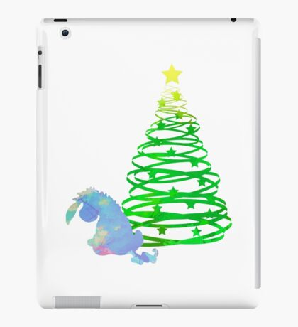 Christmas Donkey Inspired Silhouette iPad Case/Skin