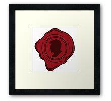 Castiel's Seal Framed Print