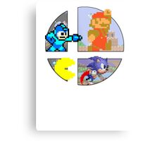 Smash Bros.: Big 4 Metal Print