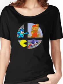 Smash Bros.: Big 4 Women's Relaxed Fit T-Shirt
