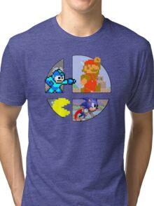Smash Bros.: Big 4 Tri-blend T-Shirt