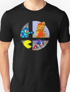 Smash Bros.: Big 4 Unisex T-Shirt