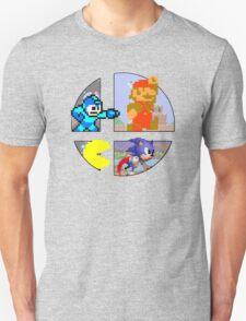 Smash Bros.: Big 4 Unisex T-Shirt