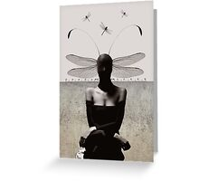 Transmogrify/damsel with no distress Greeting Card
