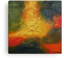 Sparks - modern abstract painting Canvas Print