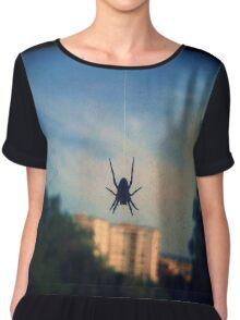 Spider Chiffon Top