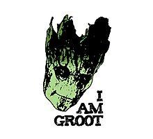 I am Groot. Photographic Print