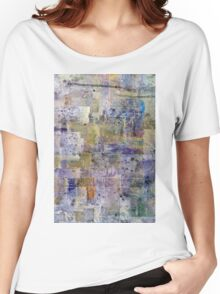 abstract painting background Women's Relaxed Fit T-Shirt