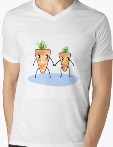 Don't carrot all as long as you're by my side  Mens V-Neck T-Shirt