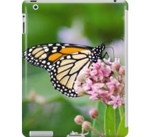 Monarch Butterfly on Milkweed Flower iPad Case/Skin
