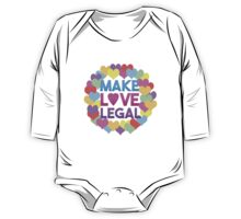 Make Love Legal – LGBTQ* pride and advocacy One Piece - Long Sleeve