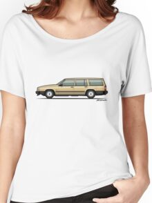 Volvo 740 745 Wagon Gold Women's Relaxed Fit T-Shirt