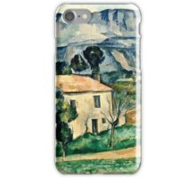 Paul Cezanne - House in Provence (1886 1890)  iPhone Case/Skin