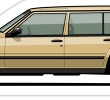Volvo 740 745 Wagon Gold Sticker