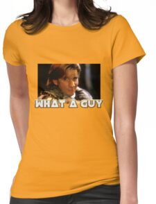 What a guy! Womens Fitted T-Shirt
