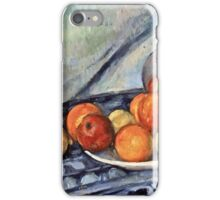 Paul Cezanne - Fruit and a Jug on a Table (about 1890 - 1894)  iPhone Case/Skin