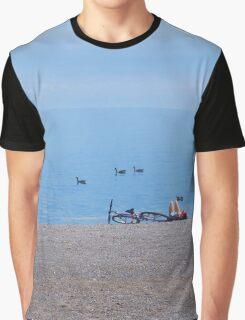 Summer Dream at Beach Graphic T-Shirt