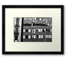 Old and new Framed Print