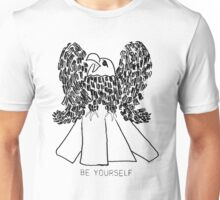 Bald Eagle Be Yourself Unisex T-Shirt