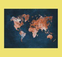 world map 15 Kids Tee