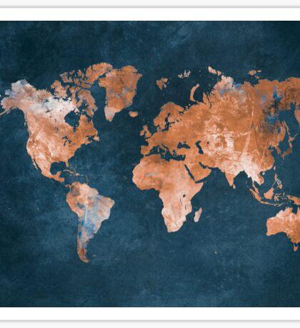world map 15 Sticker