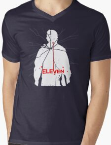 Eleven Carrie Parody Mens V-Neck T-Shirt