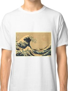 Katsushika Hokusai - The Great Wave Off the Coast of Kanagawa 19th century Classic T-Shirt
