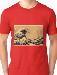 Katsushika Hokusai - The Great Wave Off the Coast of Kanagawa 19th century Unisex T-Shirt