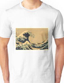 Katsushika Hokusai - The Great Wave Off the Coast of Kanagawa 19th century Unisex T-Shirt