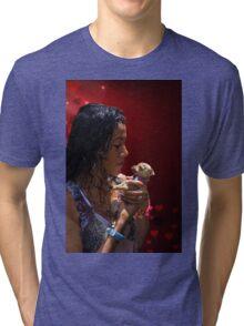 Prepare For Muchos Besos Tri-blend T-Shirt