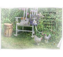 Everything In Life Poster