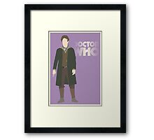 Doctor Who No. 8 Paul McGann - Poster & stickers Framed Print
