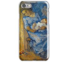 Vincent Van Gogh - Man Is At  Sea (After Demont-Breton), 1889 iPhone Case/Skin